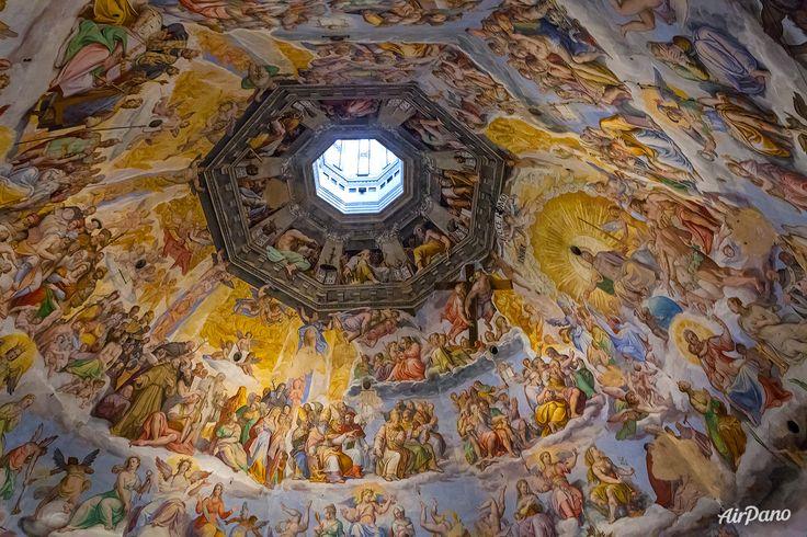 Domul Basilica Sfanta Maria a florii. Florența, Italia. Catolicism