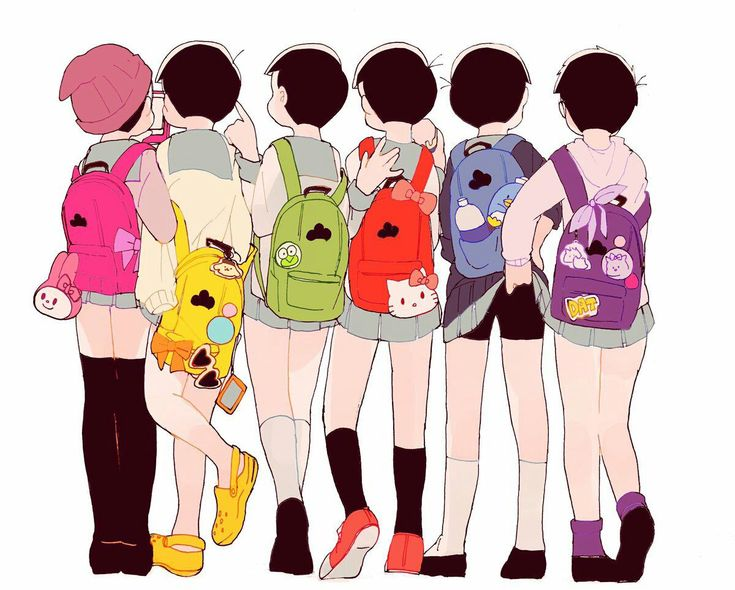 Choose your backpack! (Osomatsu-san)