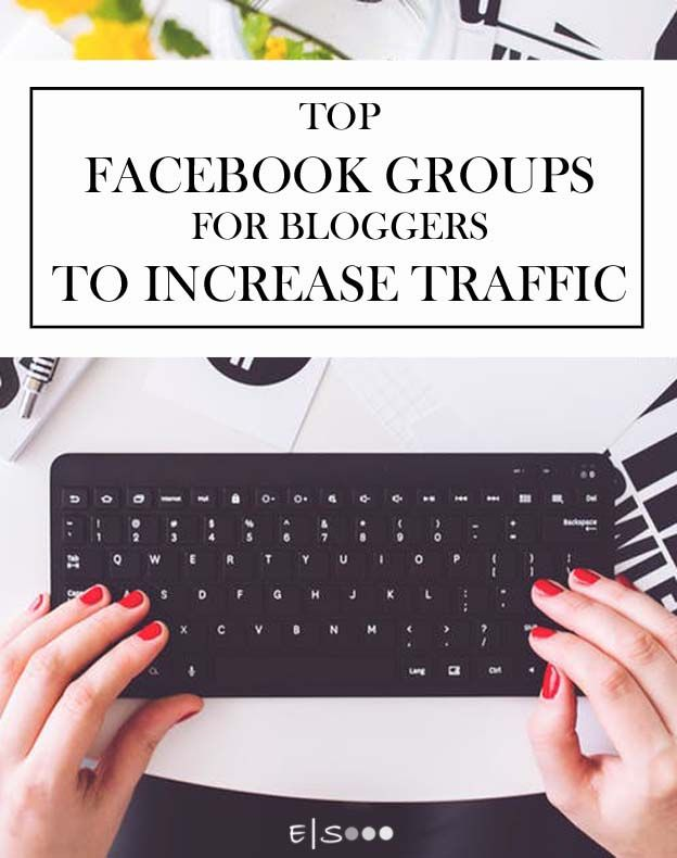 Facebook groups to promote your blog and increase your traffic.