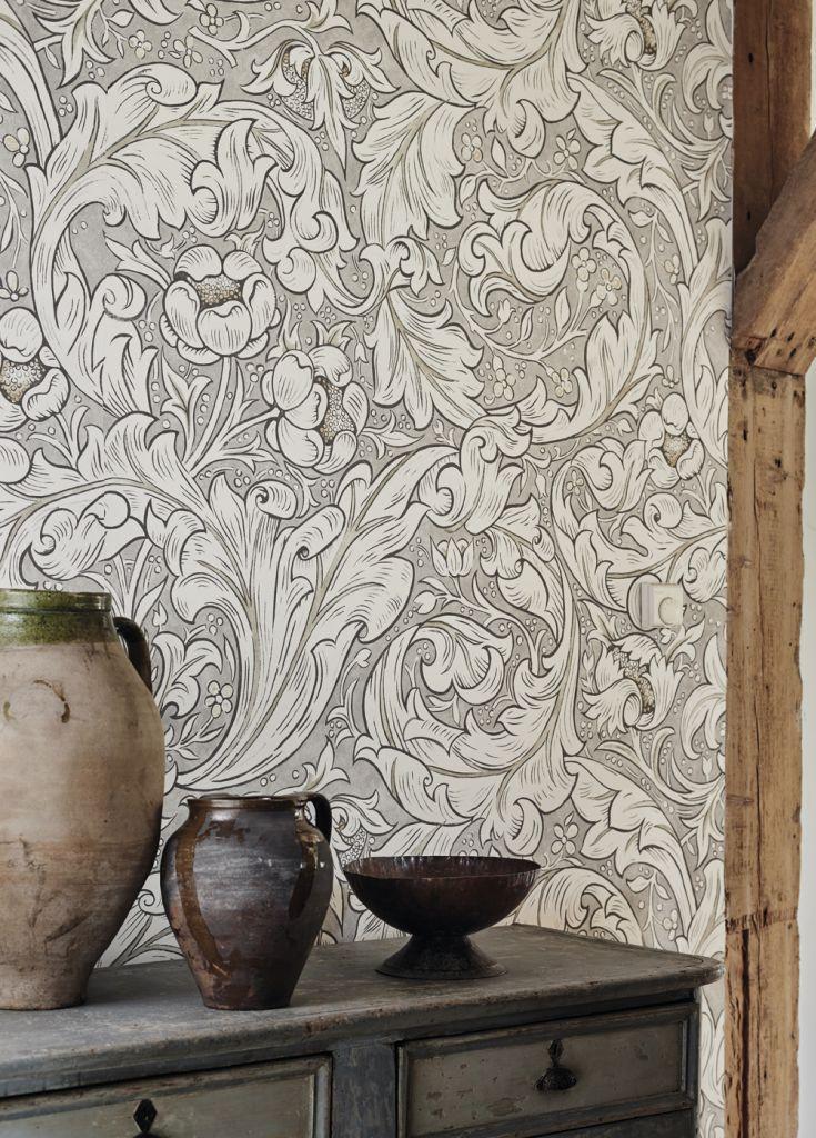 stunning batchelors button wallpaper design by morris - Wallpaper Design For Walls