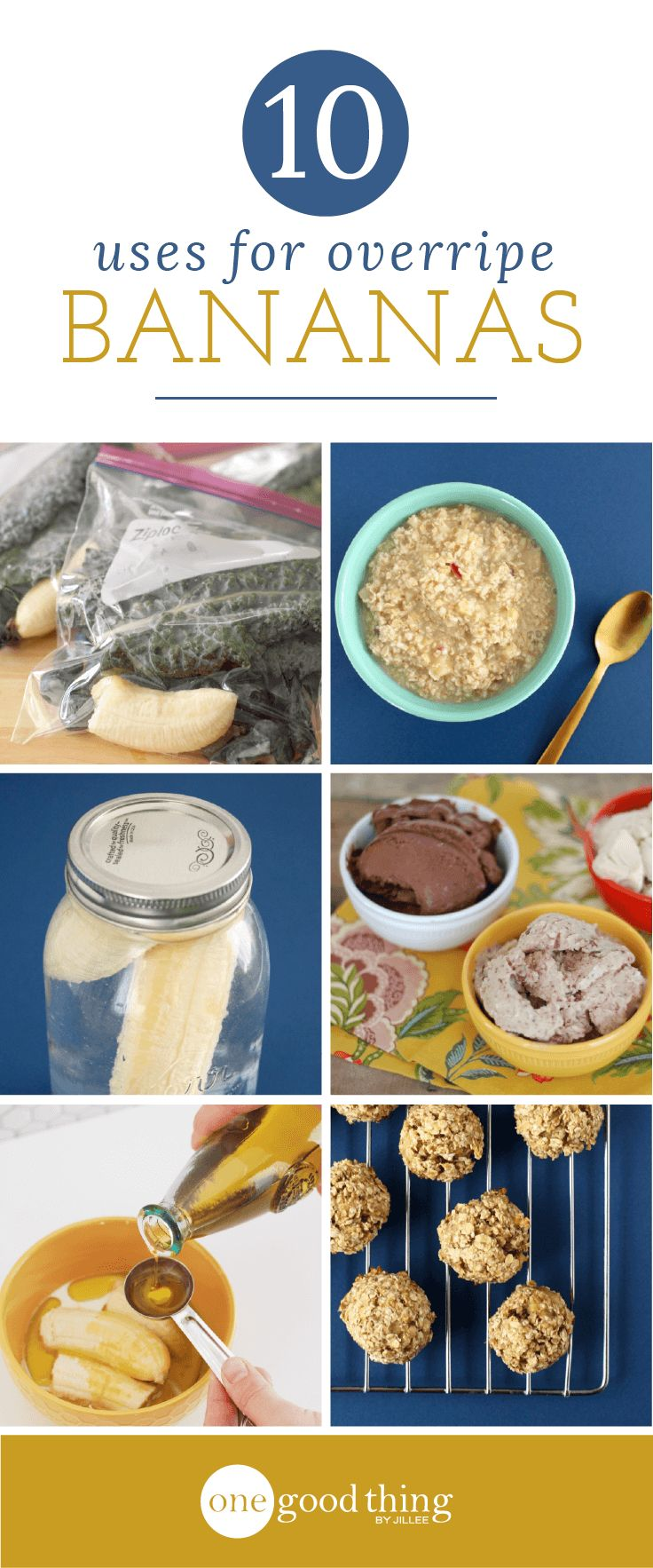 Don't toss out those brown bananas! Here are 10 brilliant ways to use your overripe bananas. A few of them may surprise you!