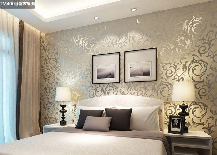 moda luxuoso papel de parede parede do fundo da tevê parede pvc fundo de papel de parede papel de parede papel de parede 2014 quarto de cama 38.49
