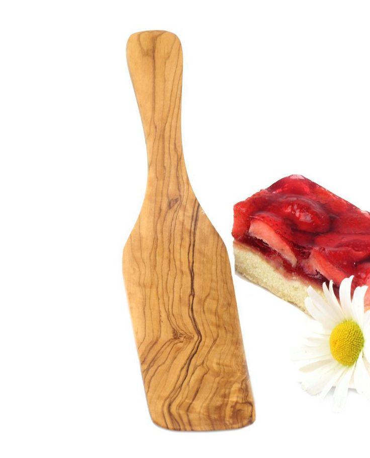 Kuchenheber aus Olivenholz 26 cm | treevoli