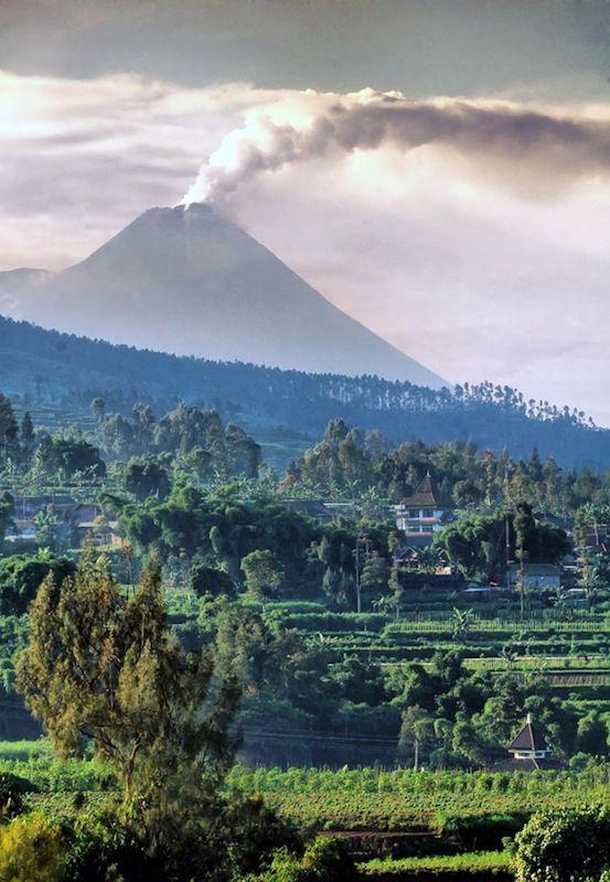 slope of merapi - Magelang, Jawa Tengah Indonesia by Noor Eva