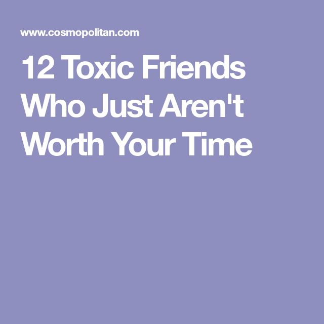 how to break up with a toxic friend