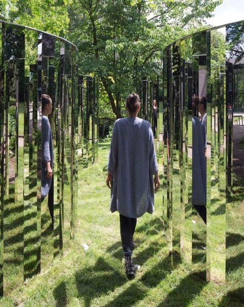 "Brooklyn Bridge Park | ""Jeppe Hein: Please Touch the Art"""