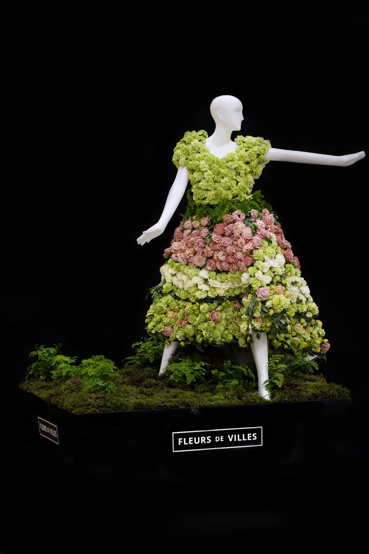 Created by Quince Florals for the Fashion Magazine Mannequin.