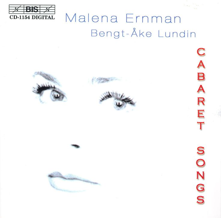 Malena Ernman/Lundin - Cabaret Songs
