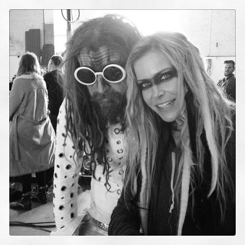 Rob Zombie and Sheri Moon Zombie! Absolutely LOVE these two!! Best couple EVER!