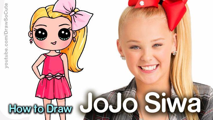 How To Draw JoJo Siwa DRAW SO CUTE Pinterest Chibi Grandes Moos Y Cmo Dibujar