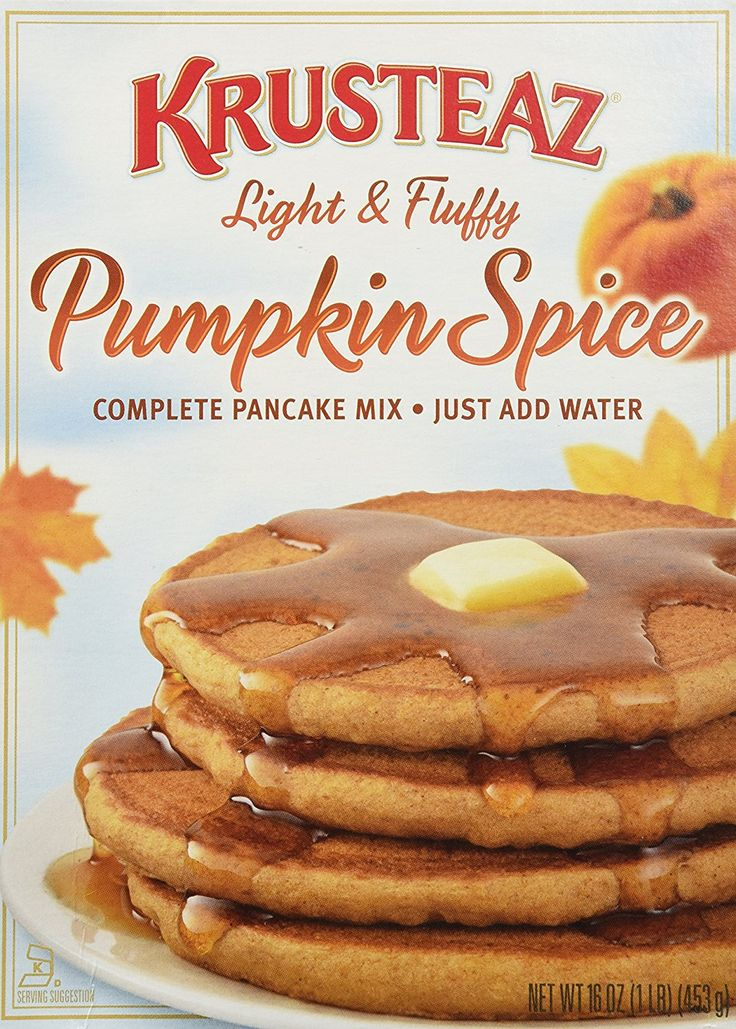 Krusteaz Pumpkin Spice Pancake Mix 16 oz(3 Pack) -- Details can be found by clicking on the image.