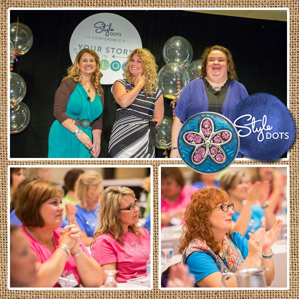 Conference 2015 - Inspiration, product reveals, training, fellowship and fun!  || Interchangeable, customizable snap jewelries & accessories #styledots