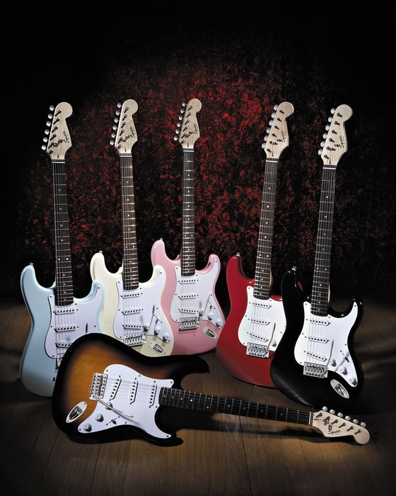 Squier Bullet Strat with Tremolo More in line with what I can afford.