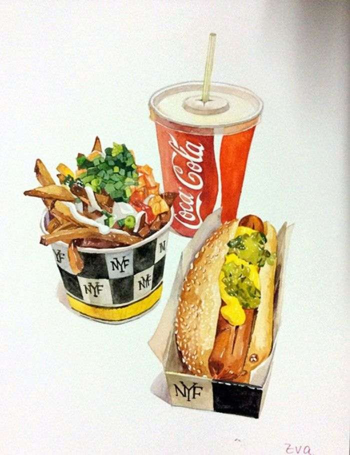 New York Fries is a Canadian quick service restaurant that mainly serves French fries and hot dogs.