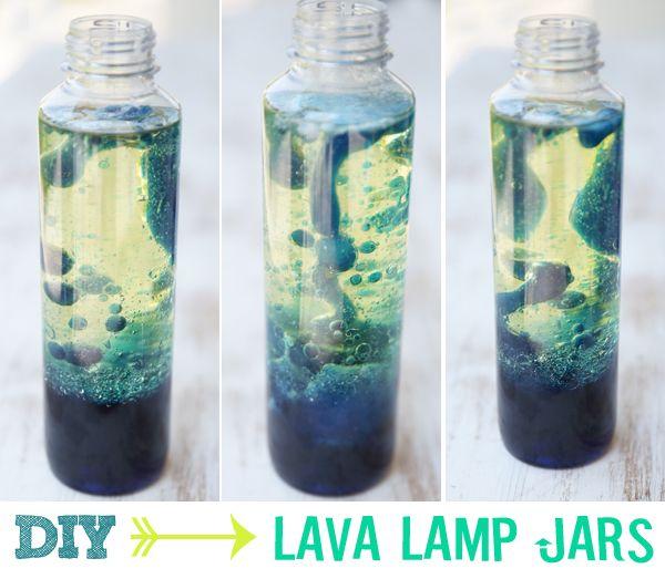 Diy Lava Lamp Jars Recipe Jars Coloring And The Kid