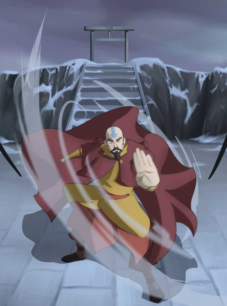 The Airbending Master by *Destron23