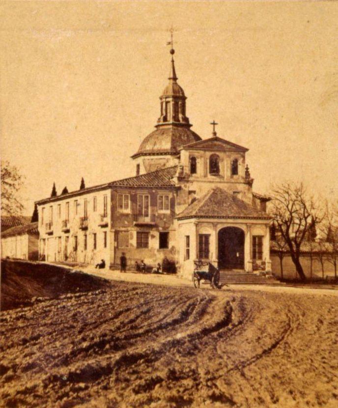 San Isidro, anterior a 1863. J.Laurent. Museo de Historia (Madrid)
