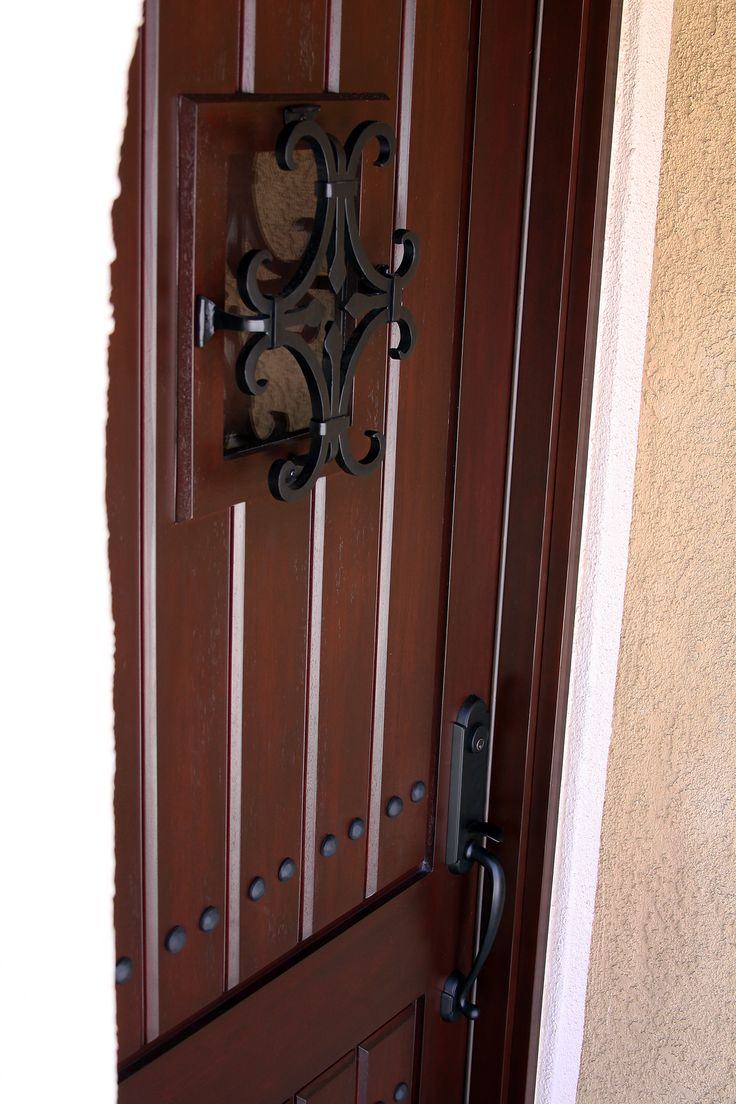 speak easy on a 8 foot tall rustic door. & 23 best 8 foot Tall Doors images on Pinterest | Fiberglass entry ... pezcame.com