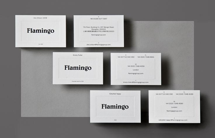 Blind Embossing – Flamingo by Bibliothèque, United Kingdom