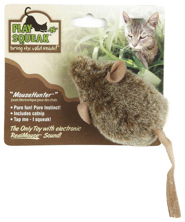 Ratita de Juguete para gatos $5990 Pequeña Ratita que emite sonido casi igual al de ratas. Funciona sin pilas, nada más el gato debe apretarla. Contiene catnip (hierba gatera) en su interior.
