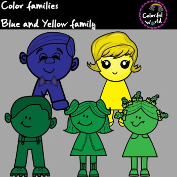 Blue and Yellow family