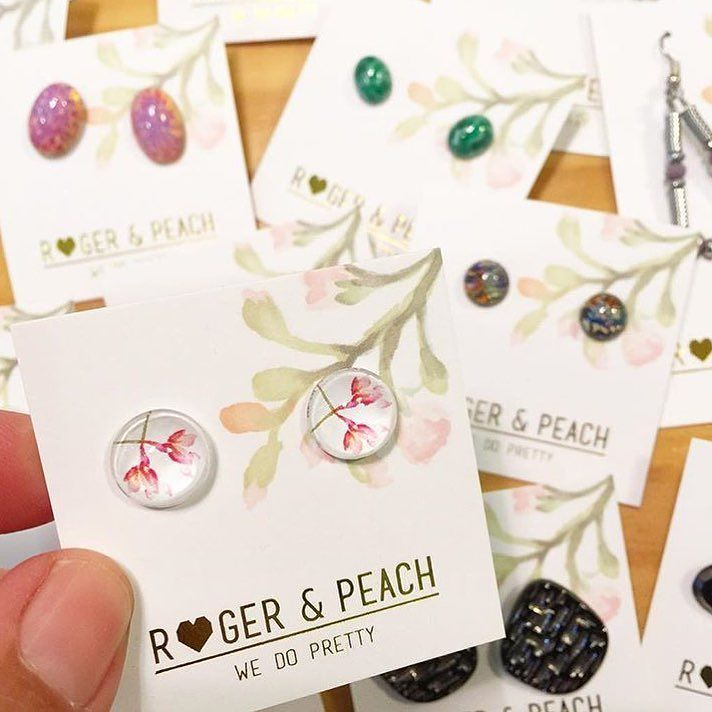 Did you know that we have a growing list of stockists around Australia. Here is a pic from the gorgeous @poppiwilliams located in Williamstown VIC #stockists #instafeed #earrings #australianmade #handmade #jewellery