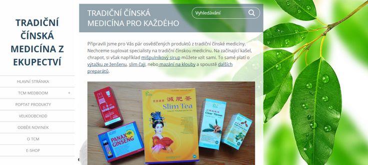 Produkty tradiční čínské medicíny