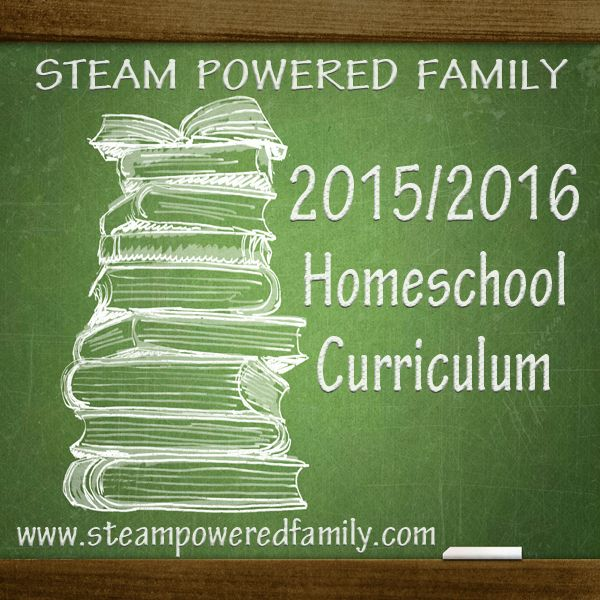Find out what we have chosen for our first year of homeschooling grades 1 and 4 at STEAM Powered Family. 2015/2016 secular, elementary homeschool curriculum