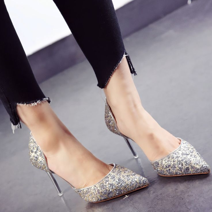 """$36.50,  Women's Glittered Pointed Toe Super High(8cm-up) Thin Heels D'Orsay Pumps Use code """"LADYSTO"""" to get 15% OFF & one FREE chic socks. from @ladystoofficial. . . .     Brian Atwood Beautiful Steel Toe Boots Wardrobes Military Wigs White Bags Gray Popular Ripped Jeans Muck Boots Adidas Shoes Winter Combat Boots Booties Autumn Wonder Sandals Belly Sorel Wigsblack Video Tutorials Thongs Shoes Skinny Jeans Ski Pants Bling Clogs Swimwear    @ladystoofficial #ladysto"""