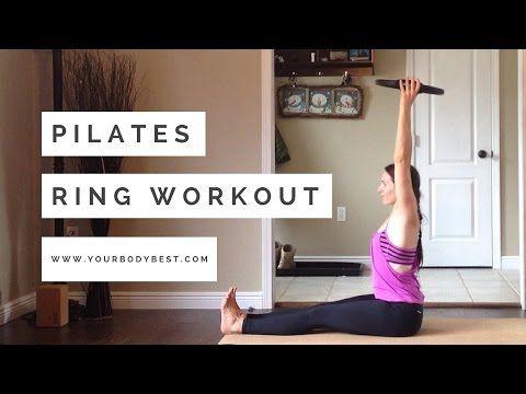 FULL 30 Minute | Intermediate Magic Circle Mat Workout with Andrea Davila - YouTube