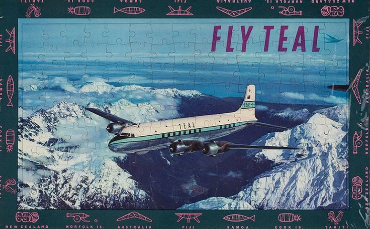 Air New Zealand Flying Social - 1960s Aircraft
