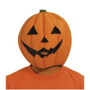 【コスプレ】 RUBIE'S(ルービーズ) ACCESSORY(アクセサリー) マスク(コスプレ) Smiley Pumpkin Mask(スマイリー パンプキン マスク) - 拡大画像
