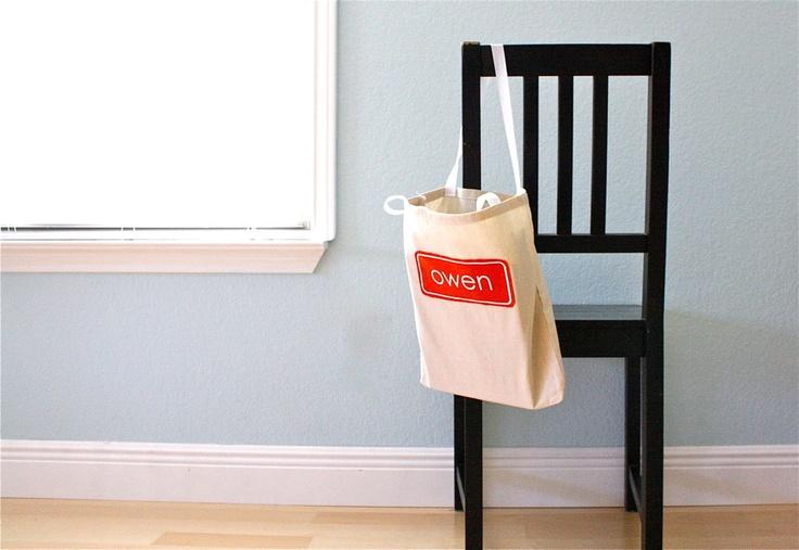 TUTORIAL: Simple Book Bags | MADE