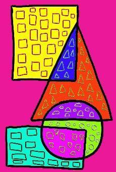 travail sur les formes, les lettres, les régions qui se croisent. Repasser sur des traits ? peindre sans déborder, des régions, tracer des formes ou des signes (MS) ? sympa