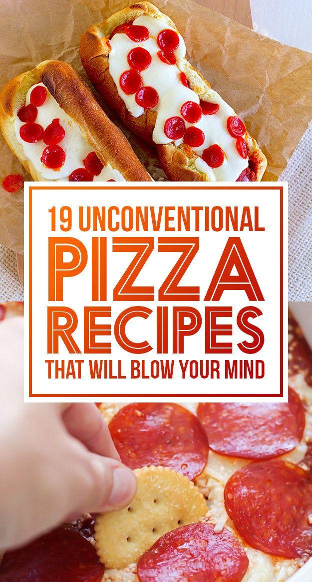 19 Pizza výtvory, které změní váš život