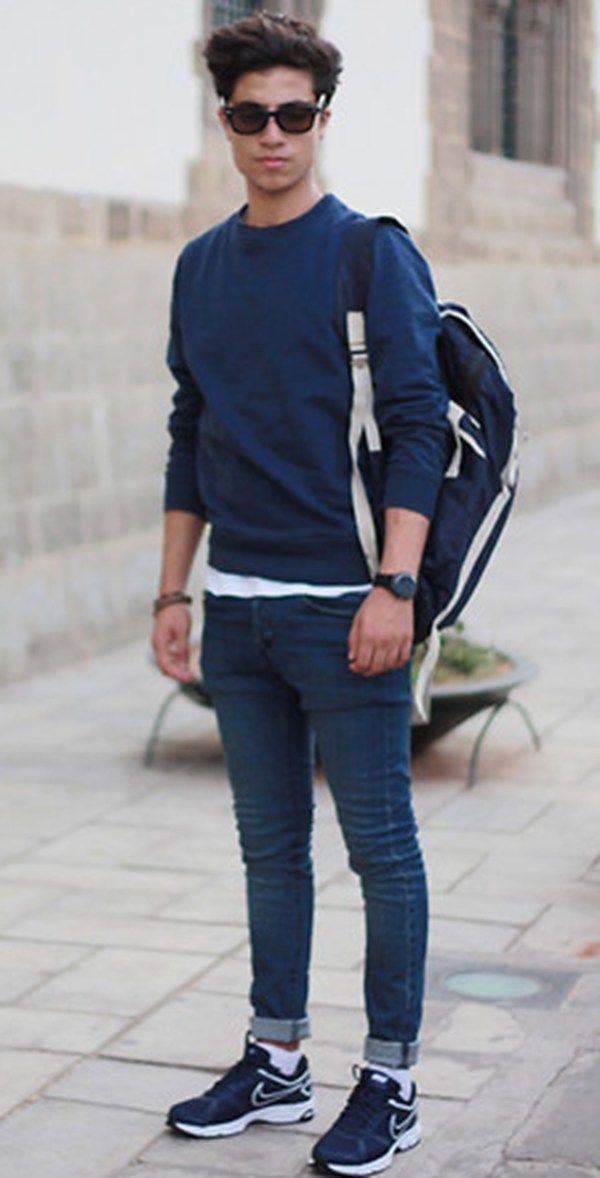 119 Best Casual Wear Images On Pinterest Man Style Men