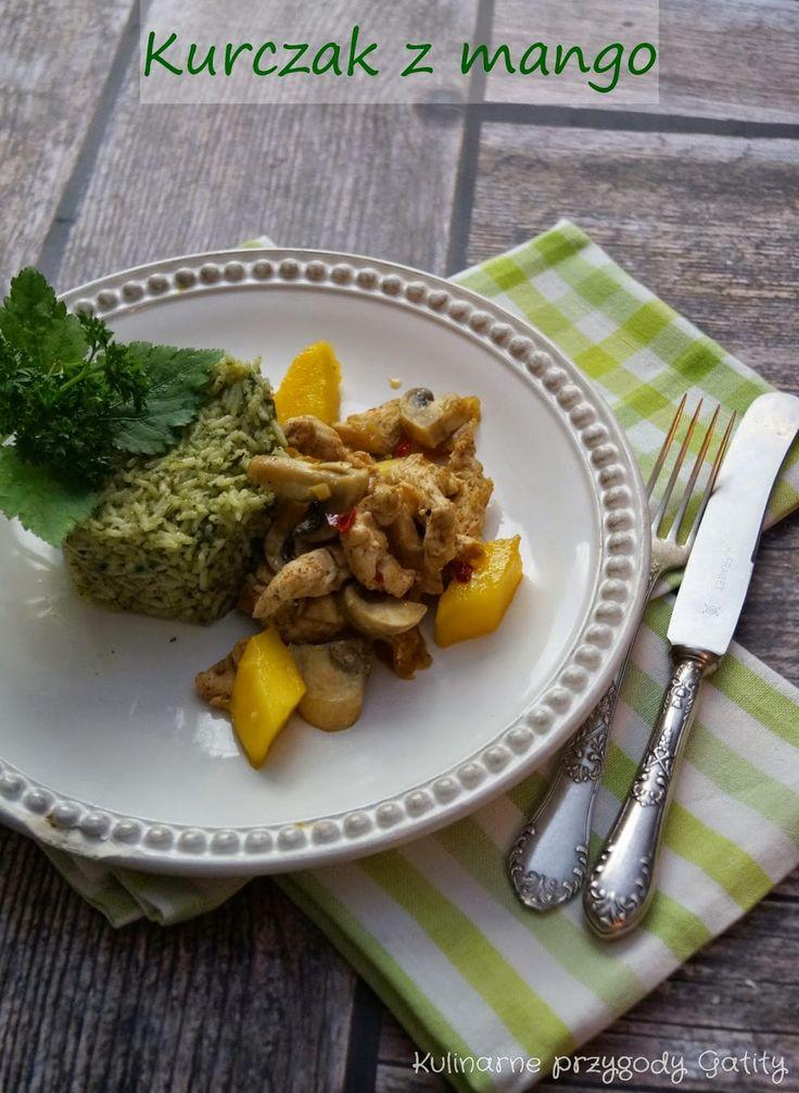 Kulinarne przygody Gatity: Smażony kurczak z mango