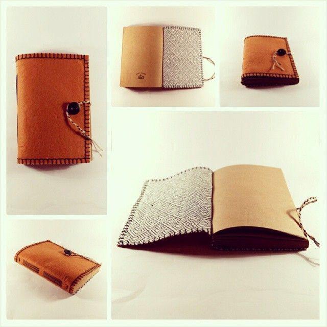 handmade feltcover book
