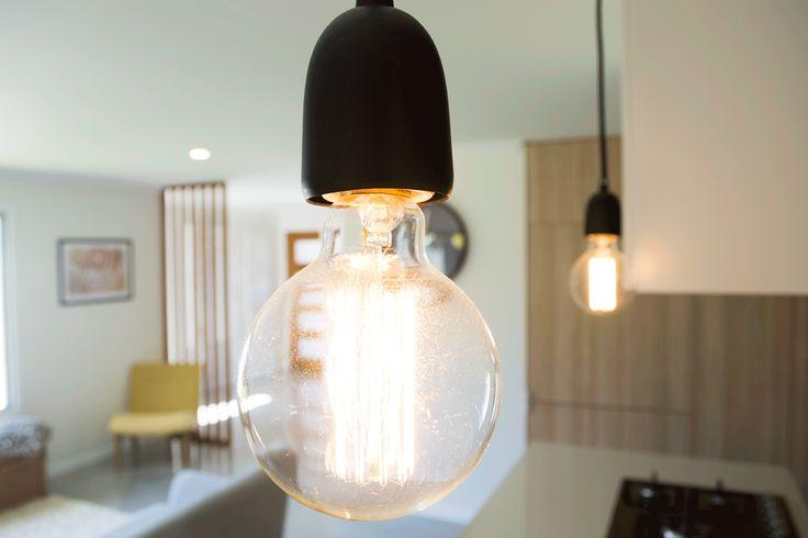 Exposed light bulb www.studioldm.com.au