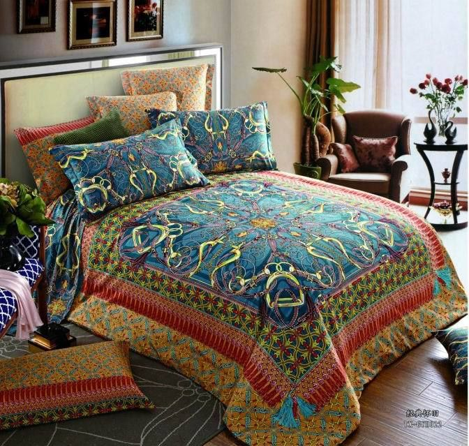 Pin by Ruby on BOHEMIAN BEDDING King size bedding sets