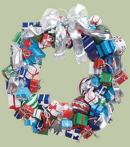 Presents Duct Tape Christmas Wreath : Seasonal Projects: Winter : Shop | Joann.com