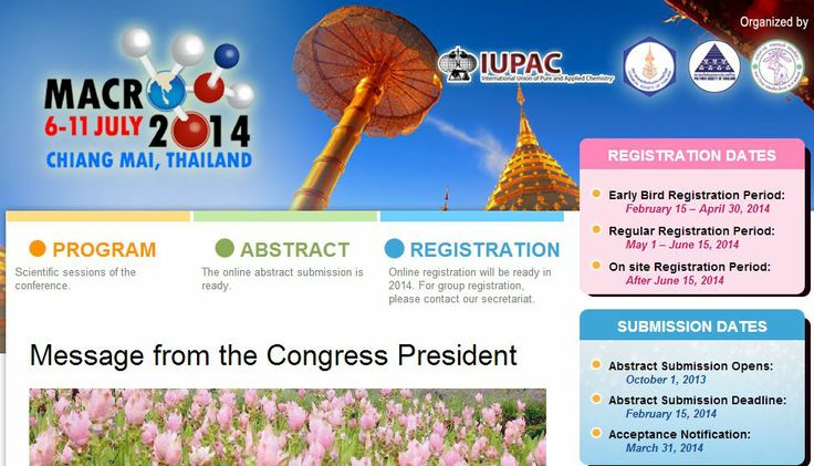 6-11 July 2014, Abstract 15 Feb 2014.
