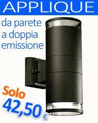 Applique da parete a doppia emissione.  VISITA IL NOSTRO SITO: http://www.dimelsrl.it
