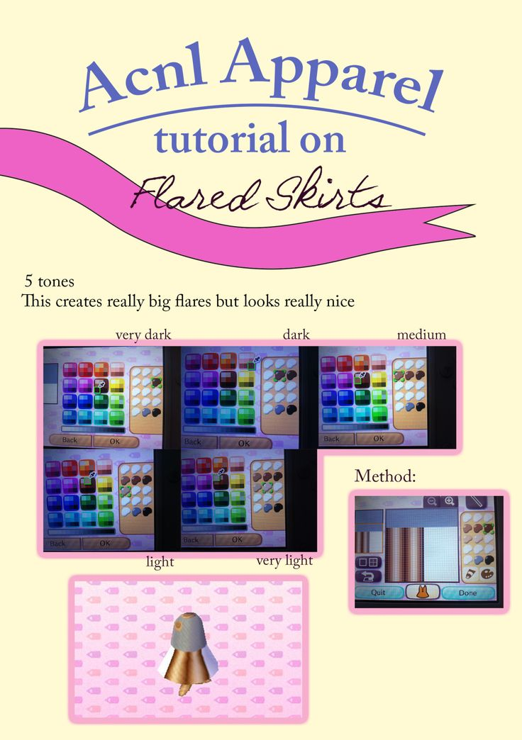 The tutorial on flared skirts! Now you can make dresses with regular pleats or a flared skirt. Enjoy :)