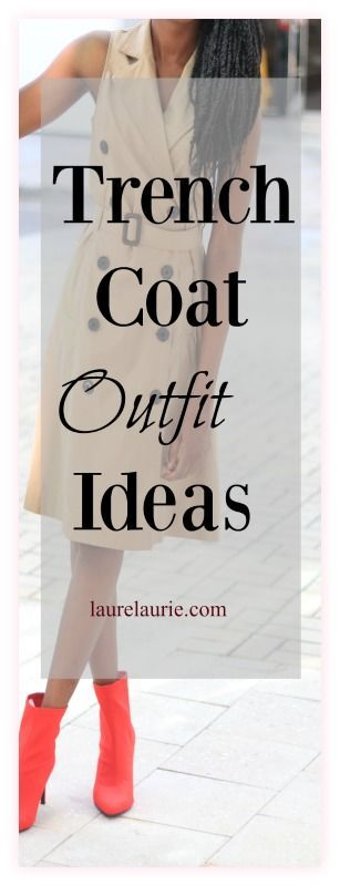 Your closet would not be complete without at least one trench coat whether to wear for fall, winter or spring. Here are a few ways to wear a  tan trench coat. #trenchcoat #springoutfitideas, #falloutfits