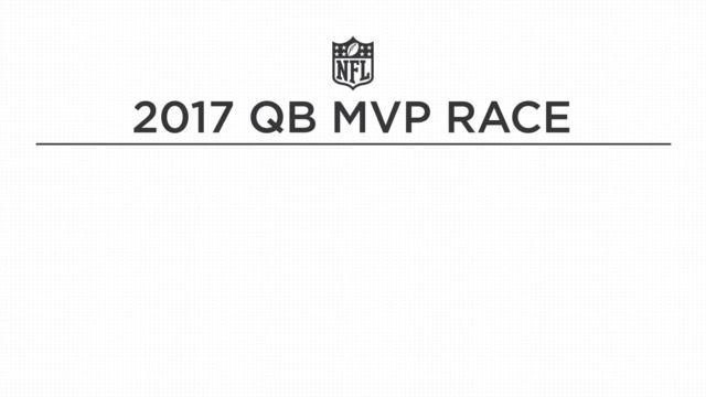 Who leads the 2017 quarterback MVP race?