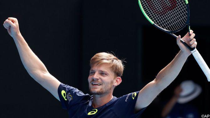 Er komt voorlopig geen einde aan het Australische avontuur van David Goffin (ATP-11). In de 8e finales in Melbourne kreeg hij Dominic Thiem (ATP-8) klein in 4 sets.