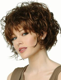My hair would seriously do this. I like the color, too. Hmmm. Said  wouldn't cut my hair this short again but I love this style!