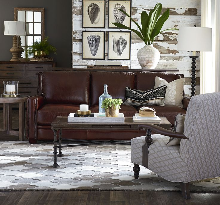 west elm hamilton leather sofa tan green chesterfield best 25+ brown furniture ideas on pinterest ...