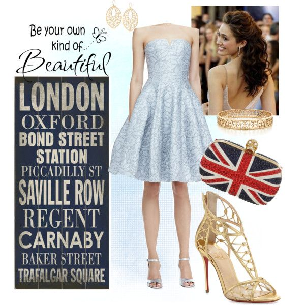 """Be your own kind of beautiful in London"" by veradediamant on Polyvore"